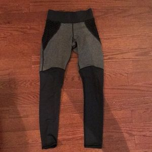 MICHI Pants - Michi gray and black leggings. Size XS.